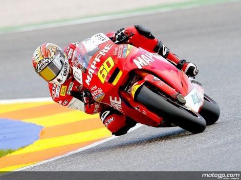 Moto2 - test ve Valencii