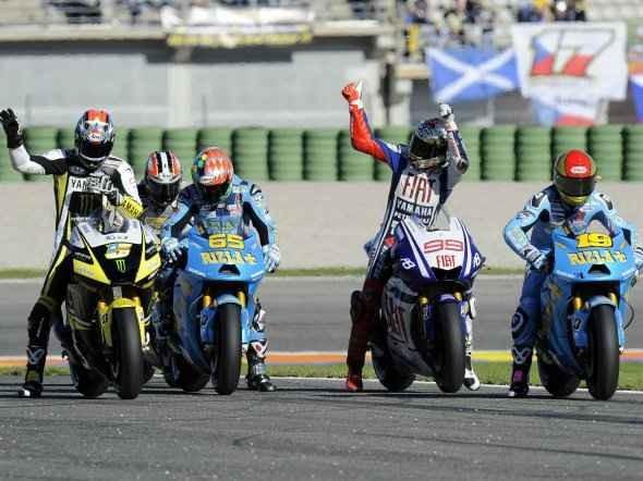 Startovn� listina MotoGP 2011