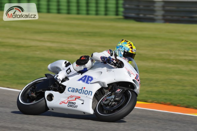 Abaja poprvé oficiálnì testoval s Ducati