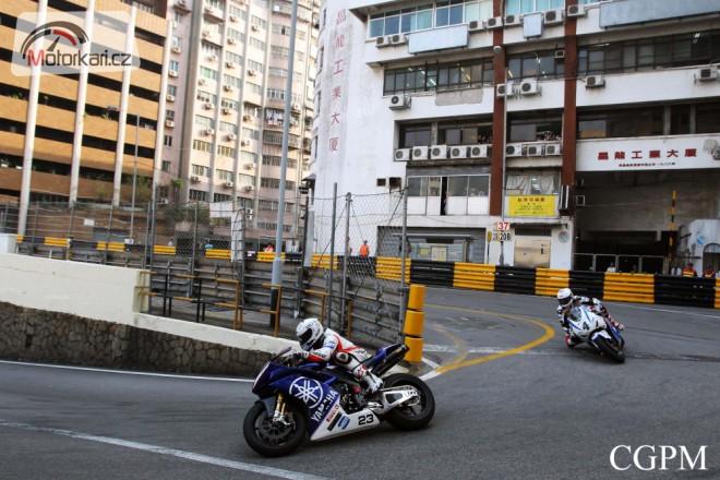 Grand Prix Macau - zmìna startu