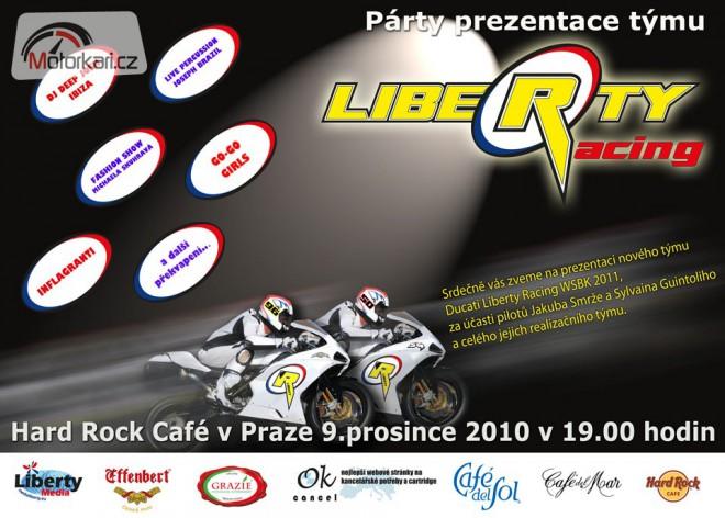 Tým Liberty Racing se pøedstaví v Praze