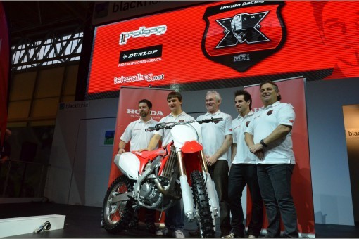 Honda pøedstavila tovární tým pro MS MX1