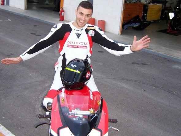 Berger poprvé testoval Ducati