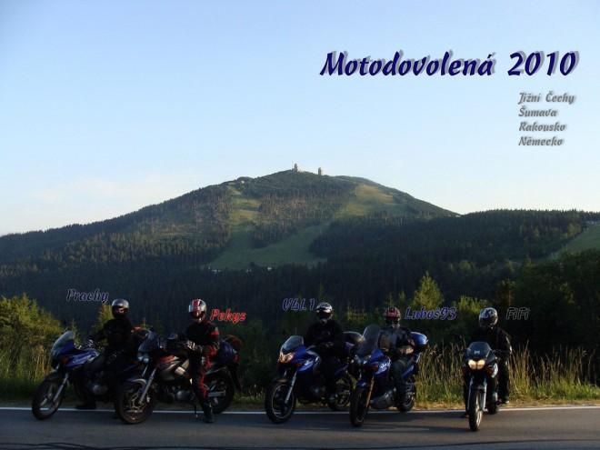První motodovolená alá Varan Tour