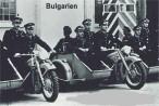 Motocykly BMW R-12 sloužící u Bulharských ozbrojených složek