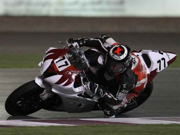 Cardus závodil v Kataru