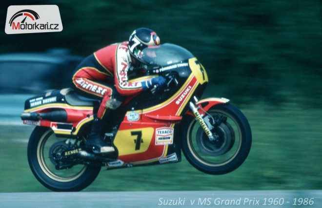 Suzuki v MS Grand Prix 1960 - 1986