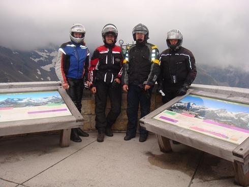Náš letní výlet - Grossglockner a Vranovská pøehrada