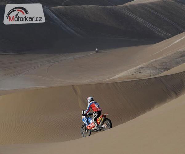 Dakar, 6. etapa: Oba Slováci v první desítce!