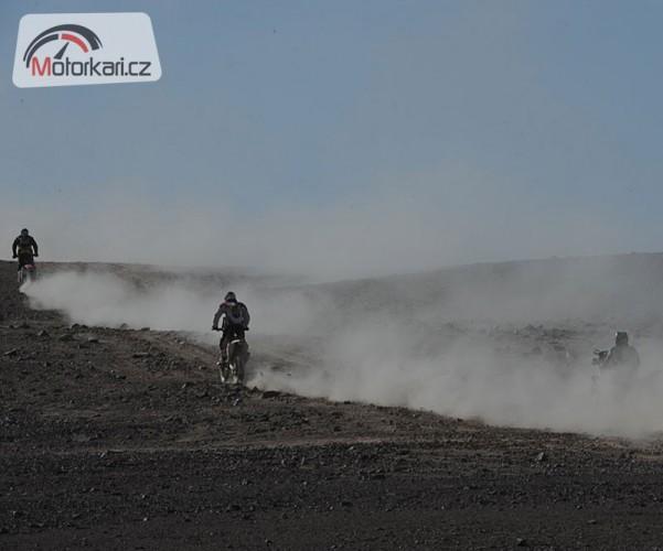 Dakar, 8. etapa: Vítìzí Coma, Svitka zradilo zapalování