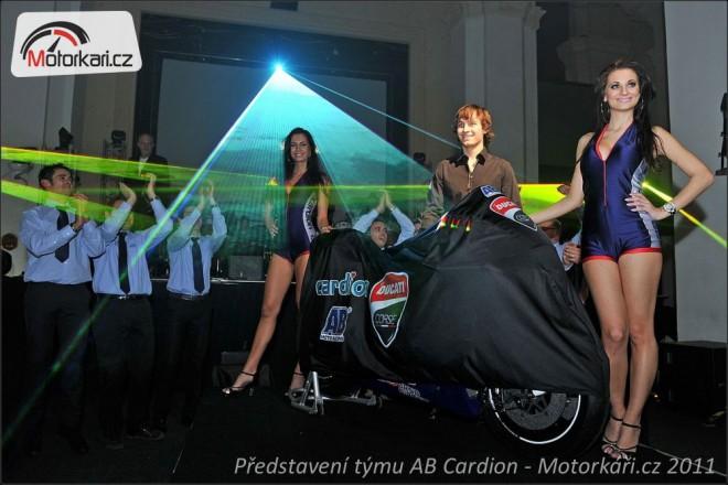 Abajova Ducati a tým pøedstaveni v Praze