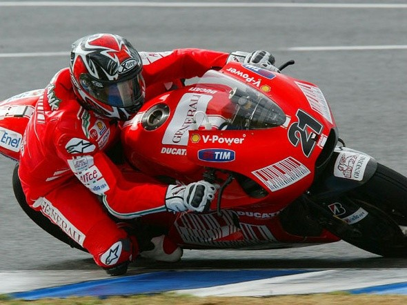 První den testù Ducati v Jerezu