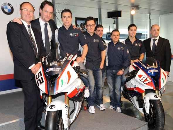 Prezentován tým BMW Motorrad Italia