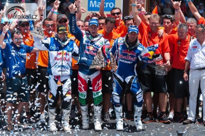 KTM oslavila desátý dakarský titul v øadì