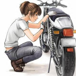 Holky a motorky: Mašiny na papíøe