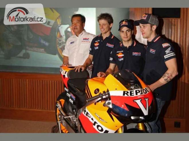 Prezentace týmu Repsol Honda