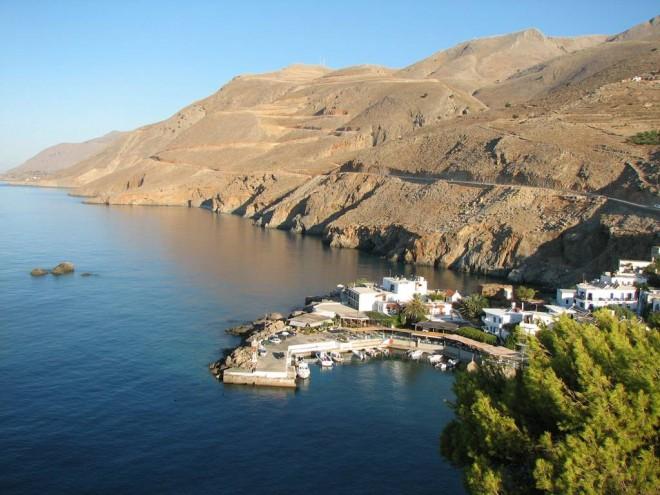 Motodovolená Peloponés a Kréta