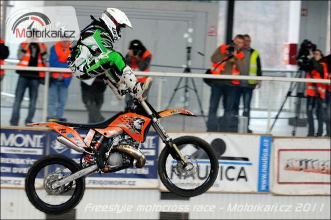 Libor Podmol podle oèekávání triumfoval na FMX Race 2011