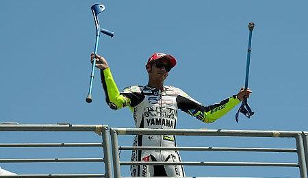 Rossi vyhrál Laureus Award 2011