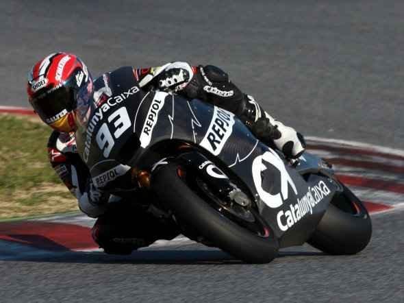 Pre - testy Moto2 a 125 ve Valencii