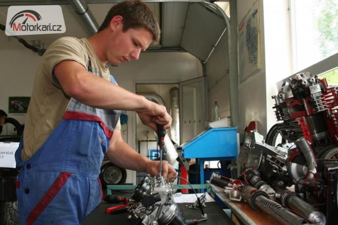 Jak se stát mechanikem motocyklù?