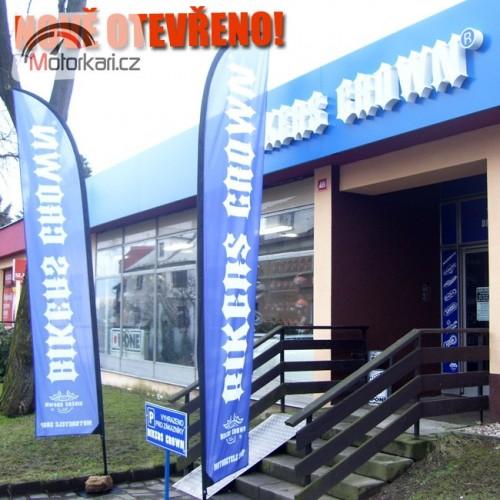 Nová prodejna Bikers Crown v Liberci