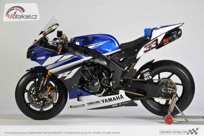 Yamaha p�edstavila superbikov� motocykl