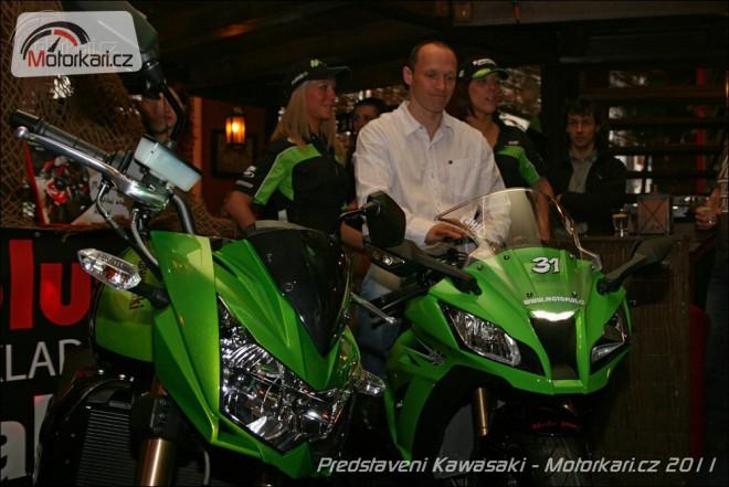 Pøedstavení nových Kawasaki v ÈR