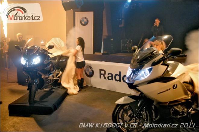 BMW K1600GT a GTL pøedstaveno v ÈR