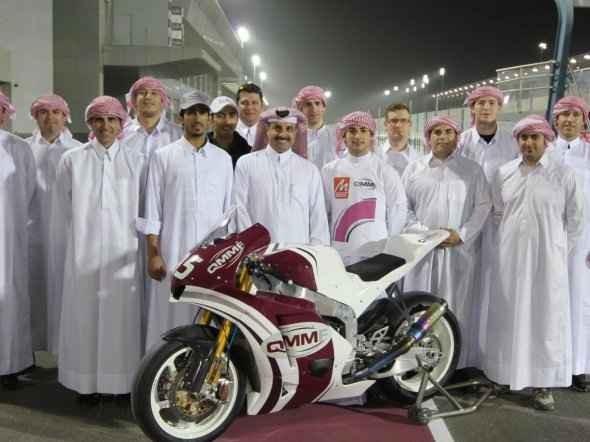 Prezentace týmu QMMF Racing