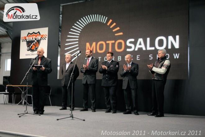 Výstava Motosalon 2011 zahájena