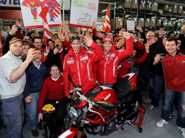 Valentino Rossi a Ducati MotoGP Night