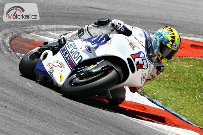 Karel Abraham odlétá na svùj první závod MotoGP