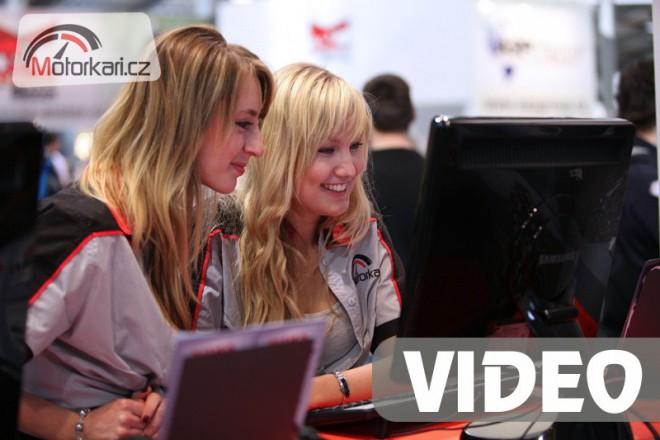 Videoreportáž z Motosalonu 2011