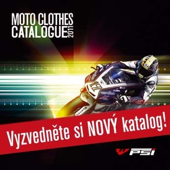Nov� katalog motooble�en� PS� HUB�K 2011