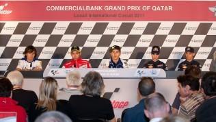Tisková konference pøed GP Qataru