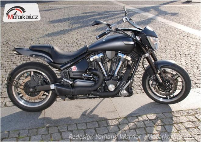 Redesign motocyklu - Yamaha Warrior XV1700