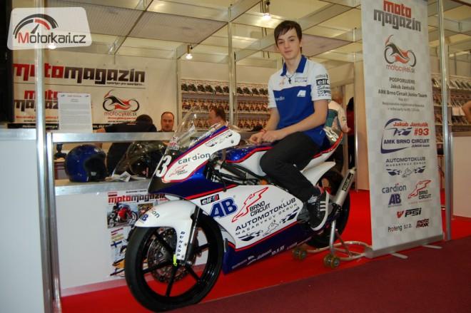 Jakub Jantulík za AMK Brno Circuit Junior Team