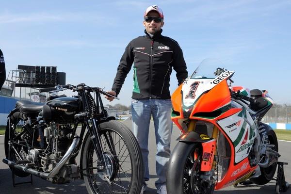 80 let motocyklových závodù na Doningtonu