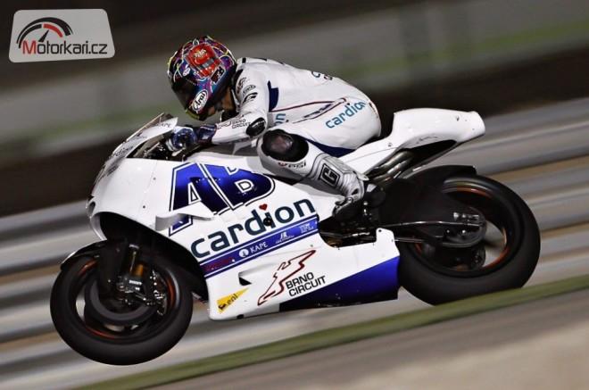 Karel Abraham se pøipravuje na další závod v MotoGP