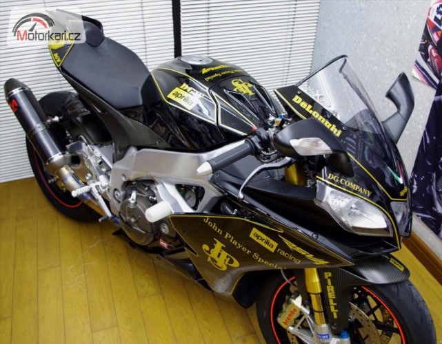 Aprilia RSV4 Factory: John Player Special Edition
