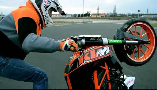 Rok Bagoroš na KTM Duke 125