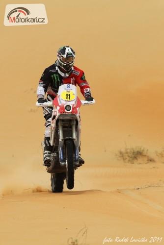 Abu Dhabi Desert Challenge 2011: Ètvrtá etapa