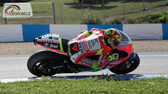 Rossi dnes testoval GP12