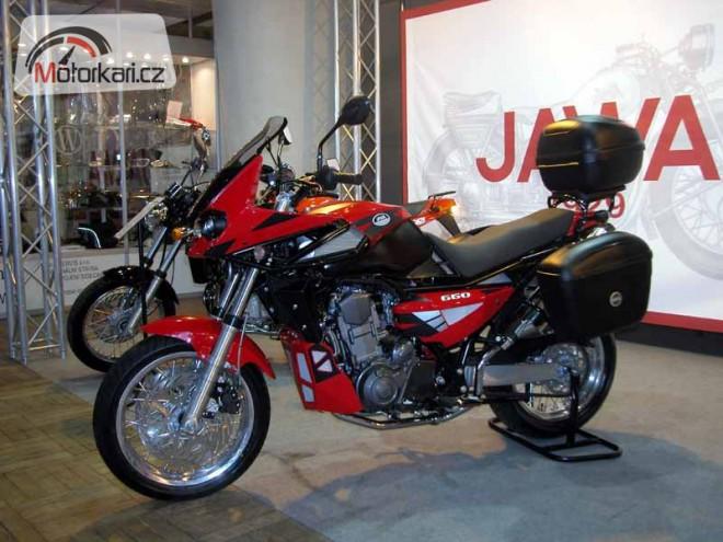 Jawa 660 Sportard se pøedstavuje