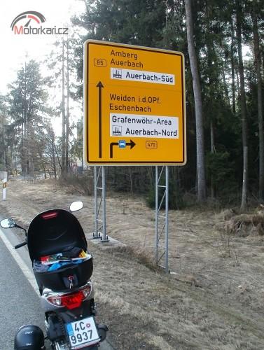 Bavorsko od severu na jih
