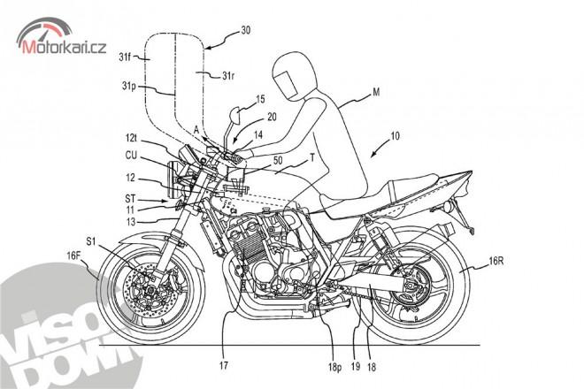 Honda pøipravuje motocyklový airbag pro další modely