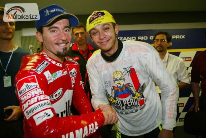 "Max Biaggi: ""Rossi je legendární jezdec."""
