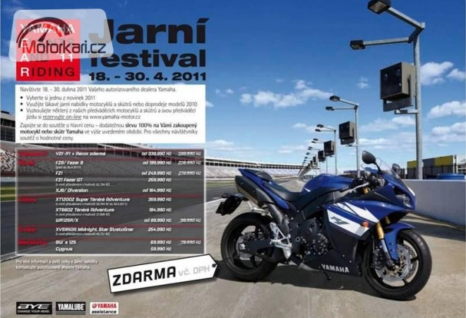 Yamaha Jarní festival 2011