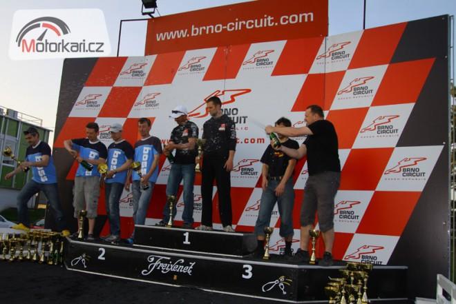 Premiérový závod Czech Endurance Championship